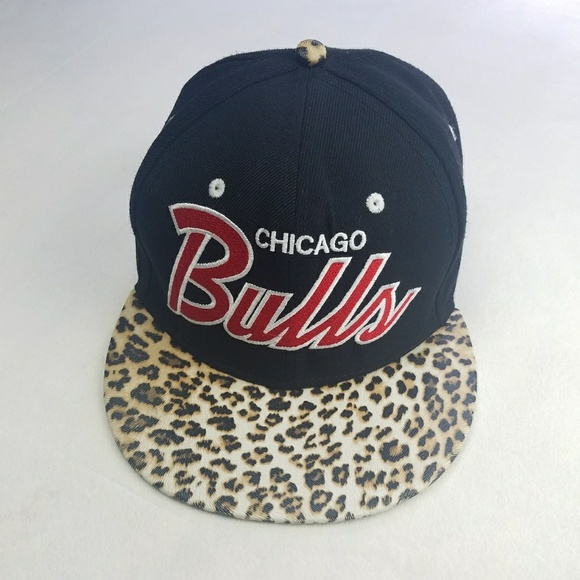 265b47a7e60 🏀CHICAGO BULLS🏀Leopard 9Fifty Hardwood Cap